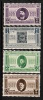 EGYPT  Scott # B 3-6** VF MINT NH (Stamp Scan # 493) - Unused Stamps