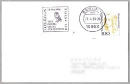 BUHO DE BRONCE (Siglo V A.C.) - Coleccion GEORG ORTIZ - BRONZE OWL. Berlin 1996 - Arqueología