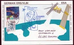 "ANTARCTIC, GERMANY/CHILE,ERS/VLBI-Station On O'Higgins"" 1993/94 !! 11.4-31 - Stamps"