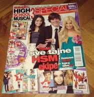 Vanessa Hudgens Zac Efron Ashley Tisdale - High School Musical 3 Special - BRAVO Serbian November 2008 VERY RARE - Magazines