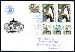 """ANTARCTIC, CHILE,Drilling Program """"M/V JOIDES RESOLUTION"""",1998 !! 11.4-27 - Postzegels"""