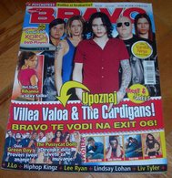 Ville Valo Rihanna Nicole Scherzinger -  BRAVO Serbian June 2006 VERY RARE - Magazines