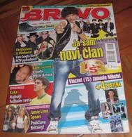 Vincent Tomas US5 Britney Spears -  BRAVO Serbian November 2007 VERY RARE - Magazines