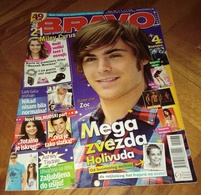 Zac Efron Lady Gaga -  BRAVO Serbian May 2009 VERY RARE - Books, Magazines, Comics
