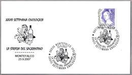 SEMANA ENOLOGICA - ENOLOGY WEEK - VINO - WINE. Montefalco, Perugia, 2007 - Vinos Y Alcoholes
