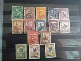 Lot 90 Stamps Angola  Portuguesa - Francobolli