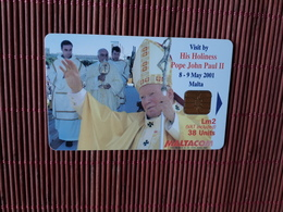 Phonecard Malta Used Rare - Malte