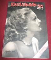 Camilla Horn DELIBAB  Hungarian April 1942 RARE - Magazines