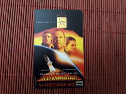 Phonecard  Bruce Willis Used - Tchéquie