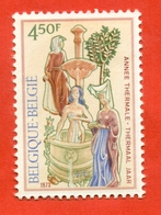 Belgium 1973.   Unused Stamp. - Hydrotherapy