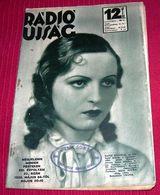 Hansi Knoteck - RADIO UJSAG Hungarian May 1936 VERY RARE - Books, Magazines, Comics