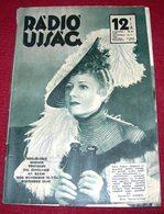 Irene Dunne - RADIO UJSAG Hungarian November 1936 VERY RARE - Magazines