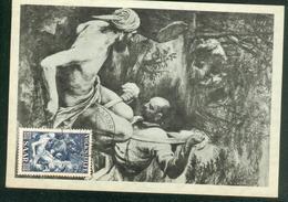 Carte Maximum - Francesco Bassano Der Barmherzige Samariter - Germany