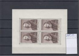 CSSR (KK) Michel Cat.No. Mnh/** Sheet 1011 - Blocks & Sheetlets