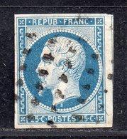Louis-Napoléon  N° 10 (Belle Marges) Avec Oblitération Gros Points, Voir Etat - 1852 Louis-Napoleon
