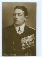 Y12148/ Graf Luckner Mit Ehrenzeichen Foto Ak  - War 1914-18