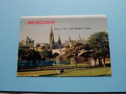 MELBOURNE City Of The 1956 Olympic Games ( Letter Card / Nucolorvue - N° 2 Set ) Anno 19?? ( See / Voir / Zie Photo ) ! - Melbourne