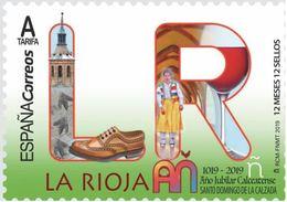 ESPAGNE SPANIEN SPAIN ESPAÑA 2019 12 MONTHS 12 STAMPS 12 MESES, 12 SELLOS: LA RIOJA MNH ED 5275 YT 5052 MI 5347 - 2011-... Neufs