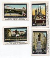 Y7261/ 4 X Reklamemarke Agram Zagreb Kroatien Ca.1920 - Kroatien