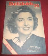 Jenny Jugo DELIBAB  Hungarian May 1942 VERY RARE - Books, Magazines, Comics