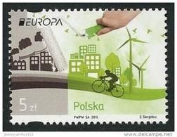 "POLONIA/ POLAND/ POLSKA/ POLOGNE-  EUROPA 2016 -""ECOLOGIA -EL PENSAMIENTO VERDE -THINK GREEN"".- SERIE De 1 V. - 2016"