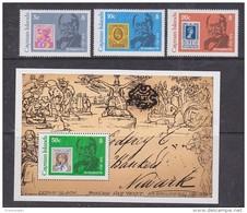 Cayman Islands 1979 Sir Rowland Hill 3v + M/s ** Mnh (42553) - Kaaiman Eilanden