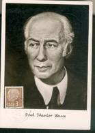 Carte Maximum - Professeur Théodor Heuss - Autres