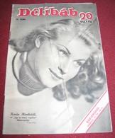 Karin Himboldt DELIBAB  Hungarian March 1942 VERY RARE - Magazines