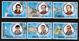 OMAN  Scott # UNLISTED VF USED ASTRONAUT MEMORIAM (Stamp Scan # 494) - Oman