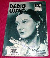 Lil Dagover - RADIO UJSAG Hungarian April 1936 VERY RARE - Magazines