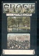 Utrecht - Groet Uit Palmpaardenmarkt Park Nieuweroord- 1907 - Utrecht