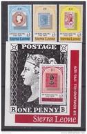 Sierra Leone 1979 Sir Rowland Hill 3v + M/s ** Mnh (42555) - Sierra Leone (1961-...)