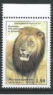 Tajikistan - 2002 - 40th Anniv Of Zoo Garden - ( Panthera Leo ) - MNH. - Tajikistan