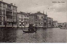 VENEZIA - Canal Grande, Gondola, Ponte Di Rialto  24.6.1913 - Venezia (Venice)