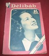 Muráti Lili DELIBAB  Hungarian February 1941 VERY RARE - Magazines