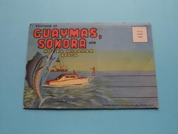 Souvenir Of GUAYMAS, SONORA And Hotel MIRAMAR BEACH ( Letter Card / Teich & C° ) Anno 19?? ( See / Voir / Zie Photo ) ! - Mexique