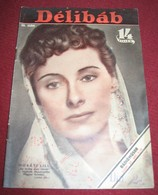 Muráti Lili DELIBAB  Hungarian September 1940 VERY RARE - Magazines
