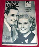 Nino Martini And Anita Louise - RADIO UJSAG Hungarian May 1936 VERY RARE - Magazines