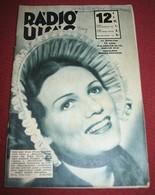 Pola Negri - RADIO UJSAG Hungarian March 1938 VERY RARE - Books, Magazines, Comics