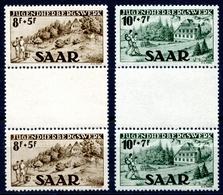 Saarland MiNr. 262-63 ZS Postfrisch MNH (A2206 - Deutschland