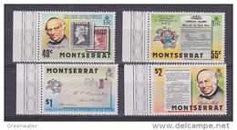 Montserrat 1979 Sir Rowland Hill 4v ** Mnh (42559) - Montserrat