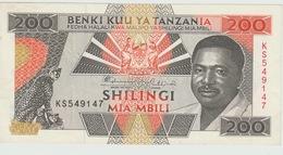 200 SHILLINGS 1995 - Tanzania