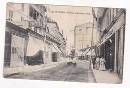 83 / HYERES / AVENUE ALPHONSE DENIS  / GUENDE 1391 - Hyeres