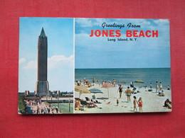 Greetings Jones Beach  New York > Long Island    Ref 3311 - Long Island