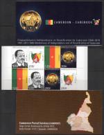 Cameroun Cameroon Kamerun 2010 Cinquantenaires Indépendance Et Réunification Du Cameroun Booklet Carnet MH - Cameroun (1960-...)