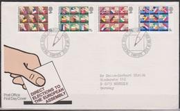 Grossbritannien 1979 MiNr.789 - 792 FDC Erste Direktwahlen Zum Europäischen Parlament ( D 129 )günstige Versandkosten - FDC