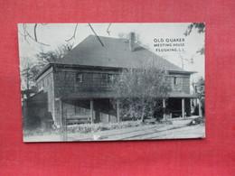 Old Quaker Meeting House  Flushing    New York > Long Island    Ref 3311 - Long Island
