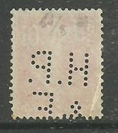 Perforé  H.P. / & F.      Indice  7  Rarement Centré Complet - France