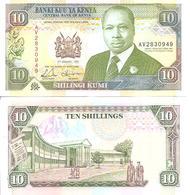 Kenya  P-24d  10 Shillings  1992  UNC - Kenia