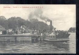 Amsterdam - Tolhuisboot V D E N T O S - Schip - 1913 - Amsterdam